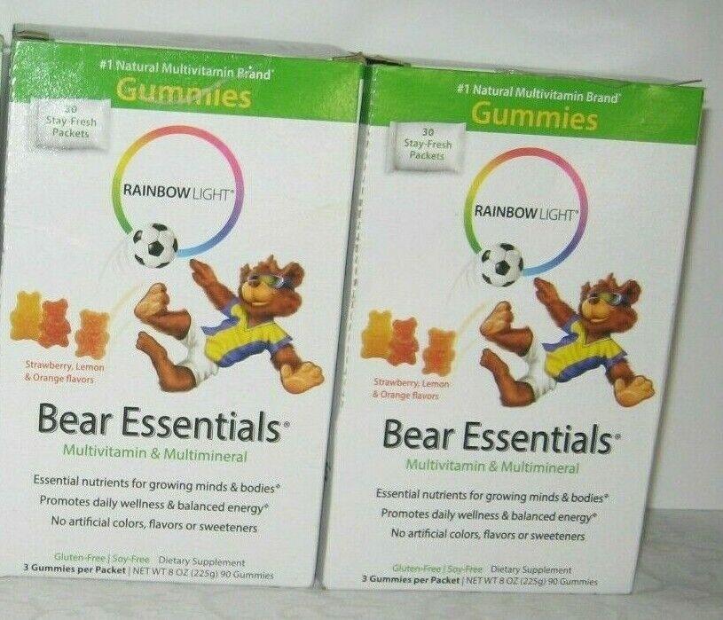 Rainbow Light - Bear Essentials Multivitamin and Mineral - S
