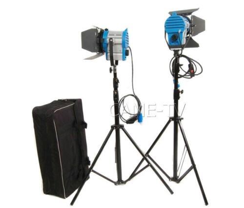 (1×650W+1×300W) Fresnel Tungsten Lights Video Spot Film Light Studio Lights Kit  sc 1 st  eBay & 1×650W+1×300W) Fresnel Tungsten Lights Video Spot Film Light Studio ...