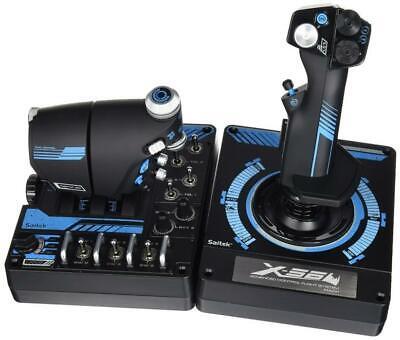 New Logitech Gaming G Saitek Pro Flight X56 Rhino HOTAS
