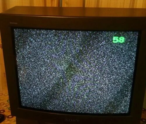 "Sony KV-20m20 20""  CRT Television  - Color TV - Trinitron - 1997  no Remote"