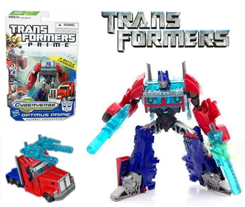 "Transformers prime beast hunters optimus prime autobot commandant 4 /""NEW!"