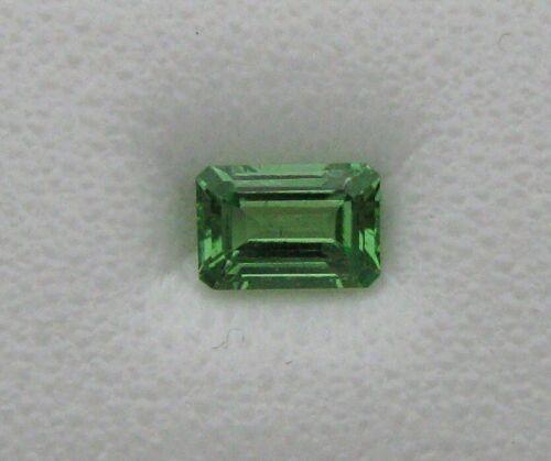 .65 ct. Natural Tsavorite Garnet ** Emerald Cut