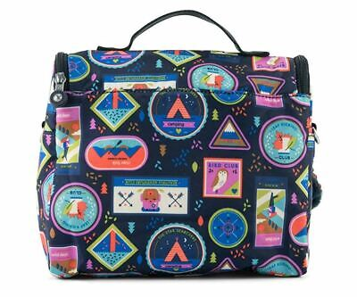 Kipling Kichirou Printed Lunch Bag One Size Wandering Roads NEW WITH TAGS$54.00
