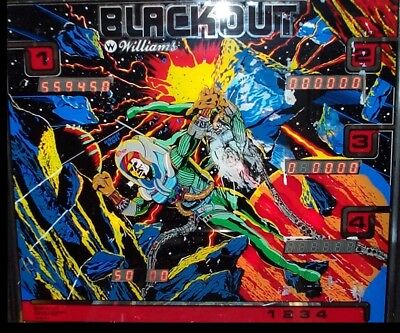 BLACKOUT Complete LED Lighting Kit custom SUPER BRIGHT PINBALL LED KIT