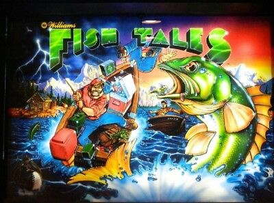 FISH TALES Complete LED Lighting Kit custom SUPER BRIGHT PINBALL LED KIT