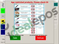 Retail EPOS Software 4500+ programmed products + barcodes | 1 month support inc