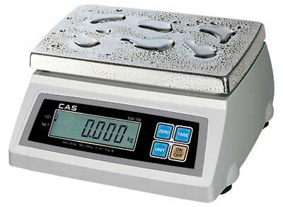 Cas Sw-50w Washdown Portion Control Scale 50lbx0.02 Lbnteplegal For Trade