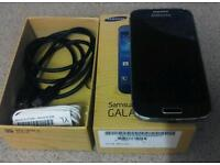 Samsung s4 mini box accessories pebble blue