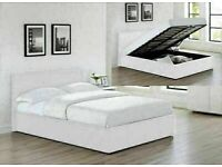 MANY CAPACITY STORAGE NEW FAUX LEATHER OTTOMAN STORAGE SINGLE-DOUBLE+SMALL DOUBLE & KING SIZE BED