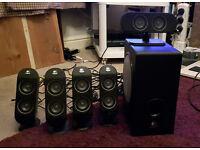 Logitech X-530 Computer Surround Sound Speakers