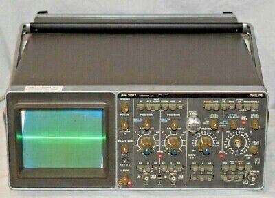 Philips Pm 3267 Analog Oscilloscope 100mhz