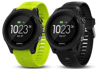 New Garmin Forerunner 935 Watch Or Tri-bundle Black w/ Yellow Strap 010-01746-00