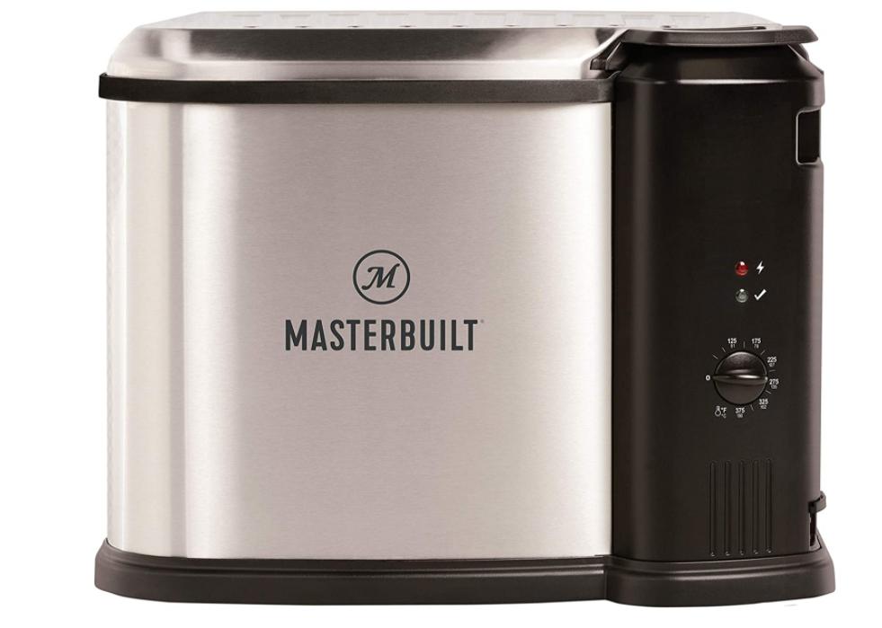 Masterbuilt Turkey Fryer Boiler Steamer 10 Liter Silver Extr