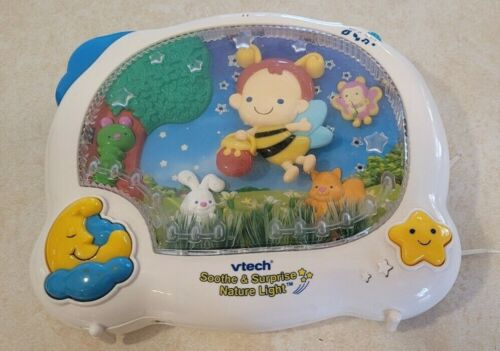 Vtech Soothe & Surprise Nature Light Crib Toy -Bee