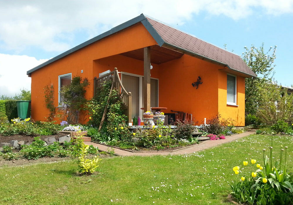 Ferienhaus mit Seeblick auf Rügen