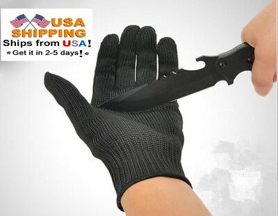 Kevlar Working Protective Cut-resistant Leval 5 Anti Abrasion Work Gloves 1 Pair