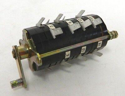 Electroswitch 102109la Auxilary Rotary Switch