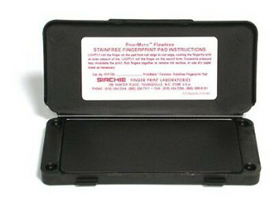 Sirchie Printmatic Flawless Fingerprinting Ink Pad Pfp700 - 6 14 X 3 New