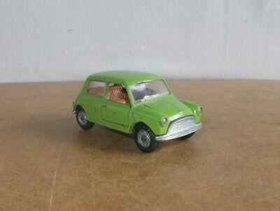 VERY RARE vintage MEBETOYS 1/43 ( A 28 ) MINI MINOR INNOCENTI light green - 60s