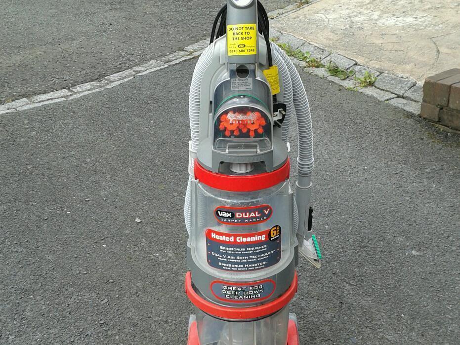 Vax Dual V Carpet Cleaner V 124a Spares Carpet Vidalondon