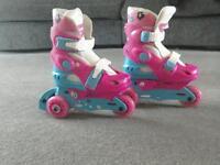 Roller boots, skates. Tri skates
