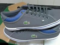 Brand new lacoste trainers still with tags and in box size 7.5