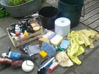 Professional car polishing detailing kit job lot