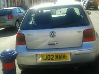 VOLKSWAGEN GOLF GT TDI 130 BHP 6 SPEED