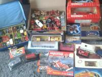 Job lot car collection boxed and loose