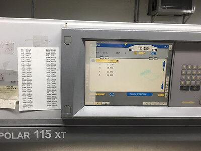 Polar 115xt And 78xt Lcd Monitor Screen Heidelberg Repair Service