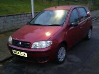 2005 fiat punto...very low mileage 43.000...full year mot