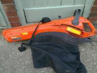 Flymo 2700w leaf blower/vac