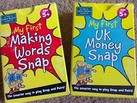 Snap making words and snap making money