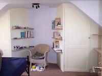 Bespoke shelving, built in wardrobes, bookcases, doors, storage cupboards, cabinets, custom kitchen.