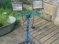Job lot work site light lighting 240v