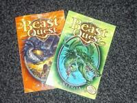 Beast Quest books volume 1&2