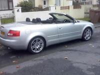 AUDI A4 1.8T COVERTIBLE SPORT 2003