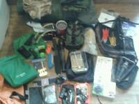 Job lot hunting survival and bushcraft kit