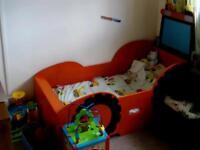 Tractor bed Child's kids toddler bed john Deere Ford massy case