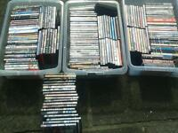 Job lot dvds plus storage boxs