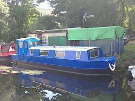 Narrow boat 32feet for sale