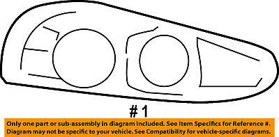 Dodge CHRYSLER OEM 08-10 Viper-Headlight Assembly 4865484AI