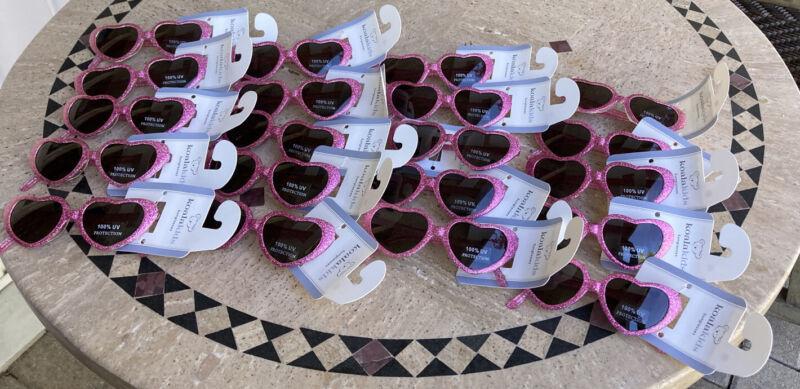 (20) Koala Kids Sunglasses NWT 100% UV Protection Toys R Us Heart Shape