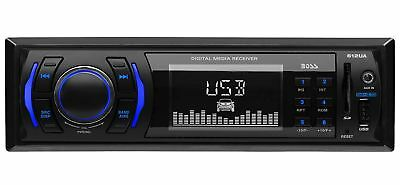 Best Car Radio Stereo Digital Media Player MP3 Receiver Front USB AUX SD FM