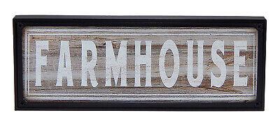 Farmhouse Farm House Rustic Sign Family Kitchen Dining Room Wall Art Home Decor Farm Room Decor