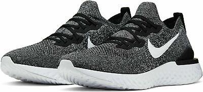 Nike Epic React Flyknit 2 Men's Running Shoes BQ8928-010 Black/White UK 10 EU 45