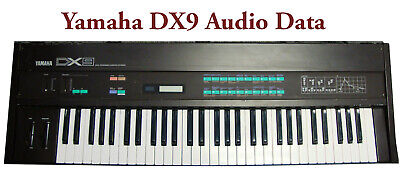 Reset Sound Data: Yamaha DX9 Data - .WAV Audio Version for sale  Shipping to India