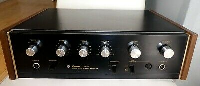 VINTAGE SANSUI AU-101 SOLID STATE STEREO AMPLIFIER WITH PHONO INPUT