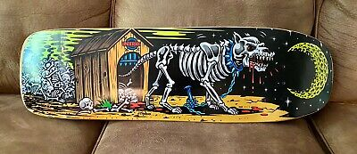 Rare Vintage Underdog Skateboard Deck Art By Jimbo Phillips