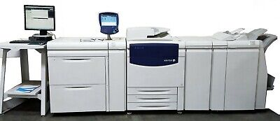 Xerox 700i Digital Color Press Advanced Finisher Folder Book Maker